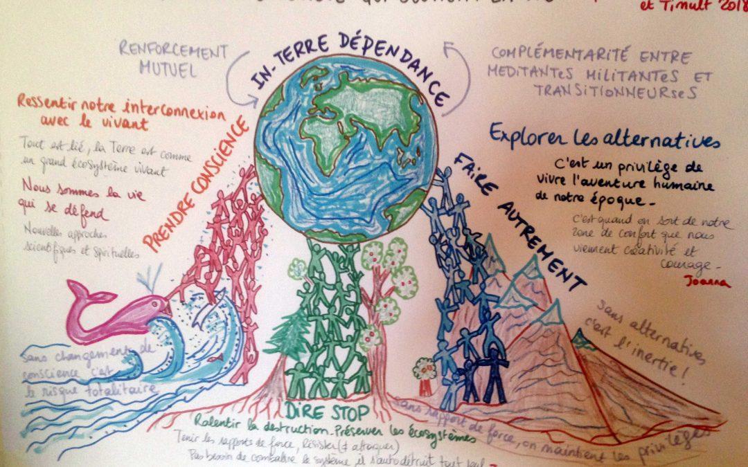 Ecologie profonde : La spirale qui relie  /  Rencontres aux sept vents, atelier découverte, eco-cabaret, lancement groupe Drome/Ardèche?